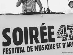Soiree 47 logo and website design